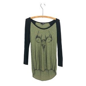 Wilfred Skull Long Sleeve Top